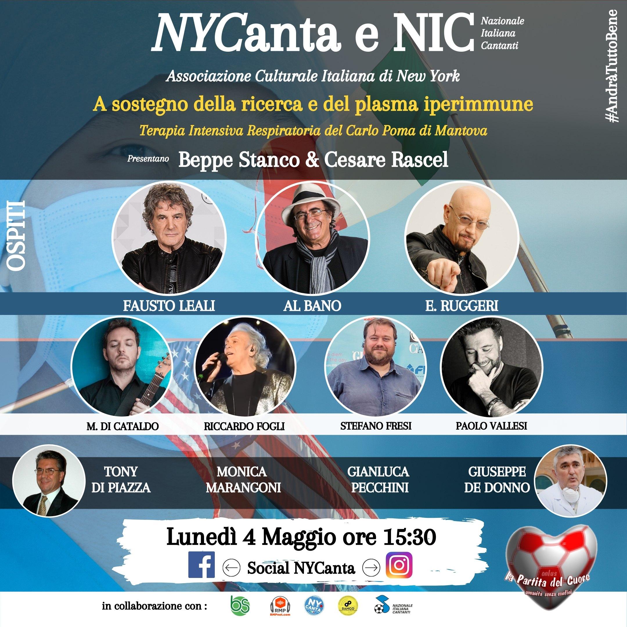 NYCanta e NIC contro Covid19